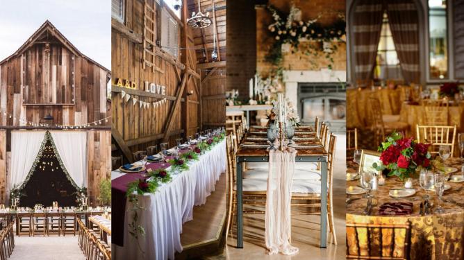 40 Romantic Rustic Barn Wedding Decoration Ideas