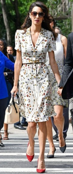 50 Dresses with Belt Styles Ideas 19
