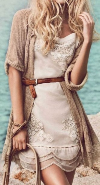 50 Dresses with Belt Styles Ideas 32