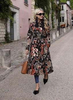 50 Dresses with Belt Styles Ideas 43