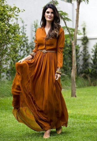 50 Dresses with Belt Styles Ideas 46