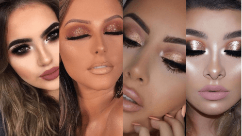 50 Shimmering Eye Makeup for Party Ideas