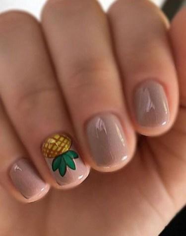 53 Ideas Fresh New Look Tropical Nail Designs 09