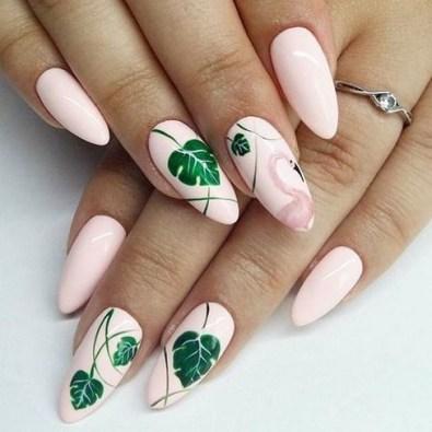 53 Ideas Fresh New Look Tropical Nail Designs 21