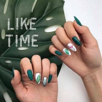 53 Ideas Fresh New Look Tropical Nail Designs 27