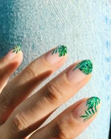 53 Ideas Fresh New Look Tropical Nail Designs 34