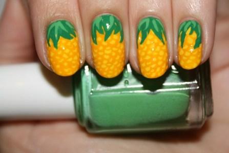 53 Ideas Fresh New Look Tropical Nail Designs 44