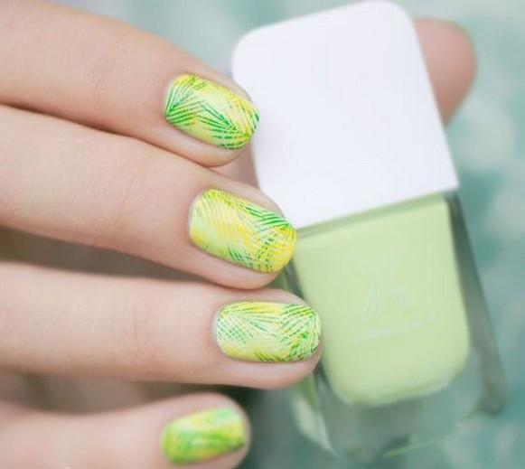 53 Ideas Fresh New Look Tropical Nail Designs 50