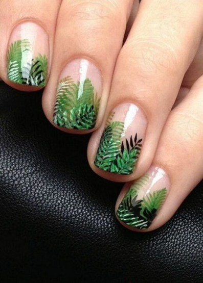 53 Ideas Fresh New Look Tropical Nail Designs 52
