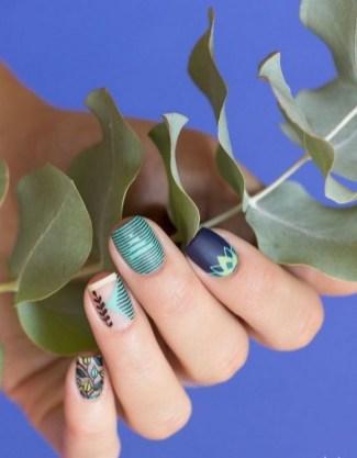 53 Ideas Fresh New Look Tropical Nail Designs 53