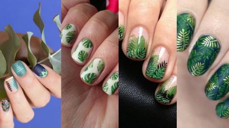 53 Ideas Fresh New Look Tropical Nail Designs