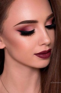 60 Lovely Makeup For Valentines Day Look Ideas 01