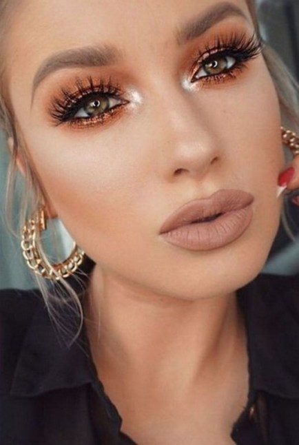 60 Lovely Makeup For Valentines Day Look Ideas 15