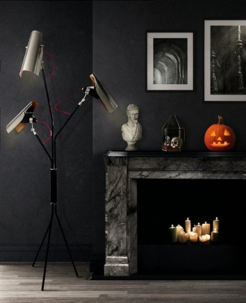 60 Nice Home Decor to Make Your House Stand Out This Halloween 55