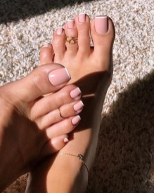 50 Ideas lovely Pink Toe Nail Art for Valentines Day 19