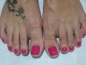 50 Ideas lovely Pink Toe Nail Art for Valentines Day 51