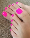 50 Ideas lovely Pink Toe Nail Art for Valentines Day 62