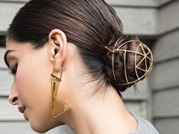 50 Stunning Classy Clean Bun Hairstyles Ideas 23