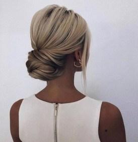 50 Stunning Classy Clean Bun Hairstyles Ideas 26