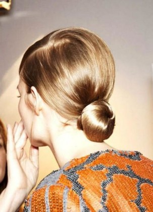 50 Stunning Classy Clean Bun Hairstyles Ideas 35