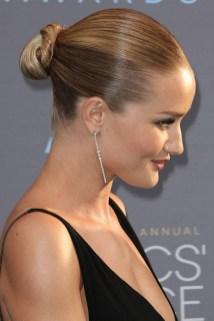 50 Stunning Classy Clean Bun Hairstyles Ideas 45