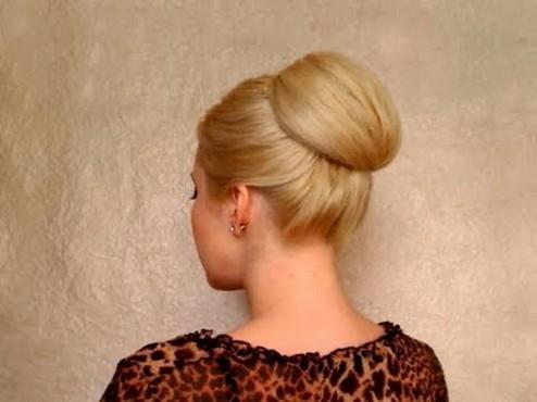 50 Stunning Classy Clean Bun Hairstyles Ideas 47