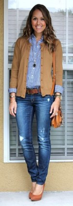 60 Stylish Cardigan Outfit Inspiration for Work 45
