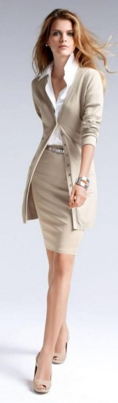 60 Stylish Cardigan Outfit Inspiration for Work 55