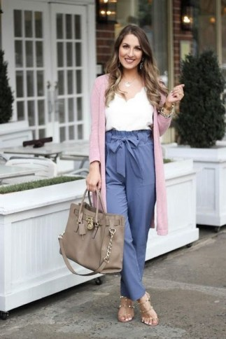 60 Stylish Cardigan Outfit Inspiration for Work 60