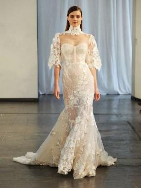 60 Victorian Styles Neckline for Wedding Dress Ideas 22