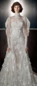 60 Victorian Styles Neckline for Wedding Dress Ideas 24