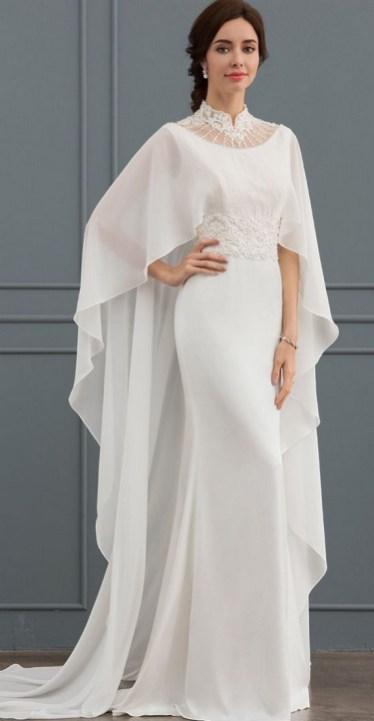 60 Victorian Styles Neckline for Wedding Dress Ideas 58