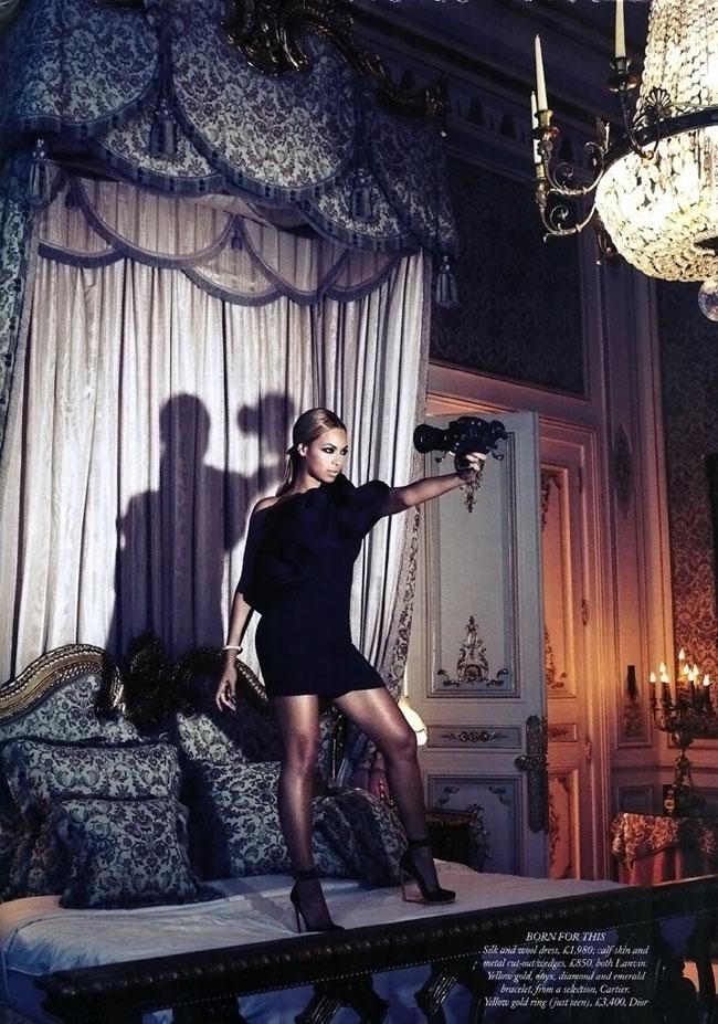 Beyonce Harpers Bazaar 2011