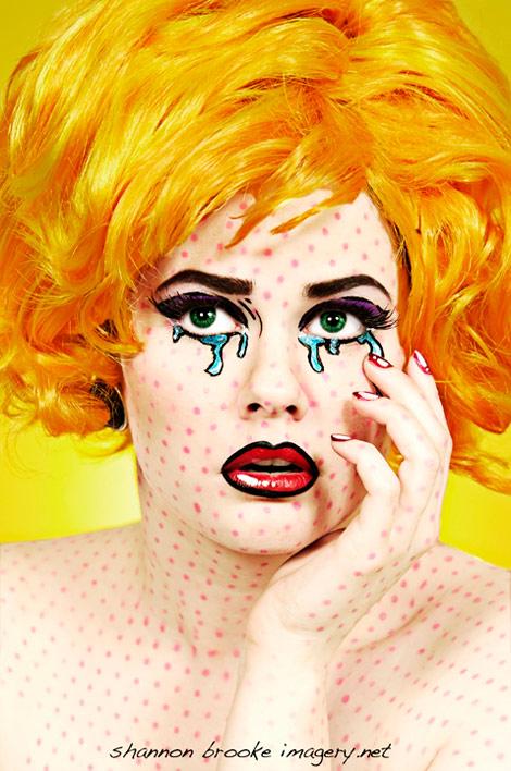 comics makeup