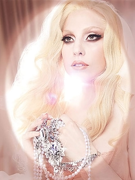Lady Gaga in MAC's 2011 VIVA GLAM ad