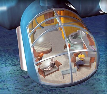 Poseidon Underwater Hotel Room