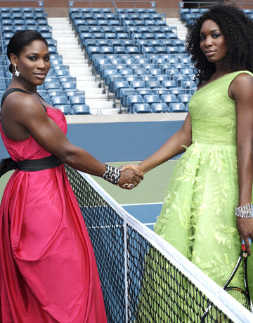 Serena and Venus Williams Tennis Fashion Match