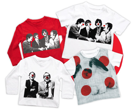 Stella McCartney Red Nose T Shirts