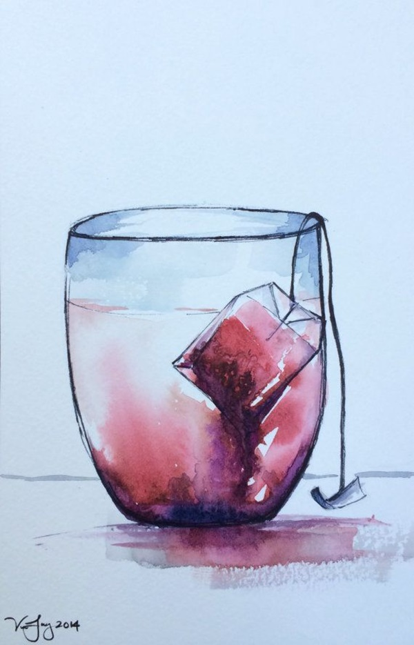 Simple Watercolor Painting Ideas For Beginners