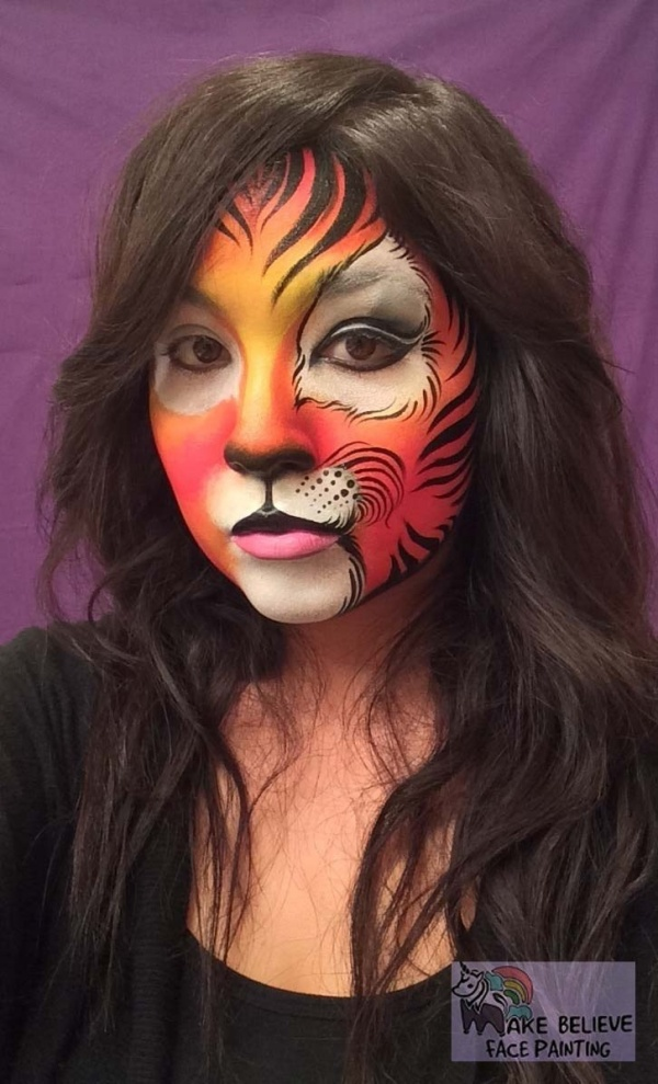 Easy Halloween Face Painting Ideas For Adults