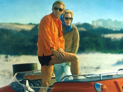 Steal His Look: Steve McQueen at the Beach