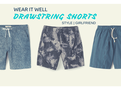 Wear it Well: 3 Ways to Wear Drawstring Shorts