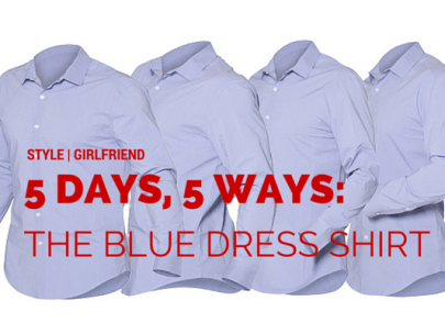 5 Days, 5 Ways: What to Wear With a Blue Dress Shirt