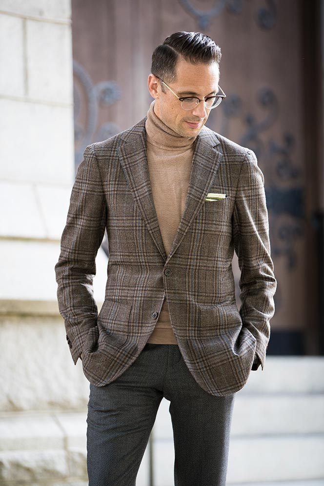 How to Wear a Turtleneck with a Suit