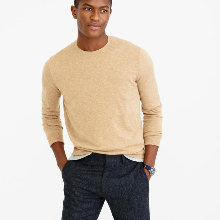 menswear, men's style, men's fashion, wardrobe essentials, summer, forties, summer essentials, summer style, sweater, cashmere, crewneck sweater, J.Crew