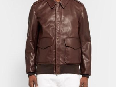 5 Days, 5 Ways: Leather Pilot Jacket