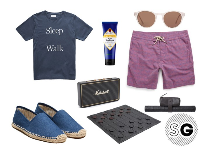 espadrilles, soludos, jack spade, saturdays nyc, marshall speakers, faherty, suit supply, checkers, steven alan optical, jack black,