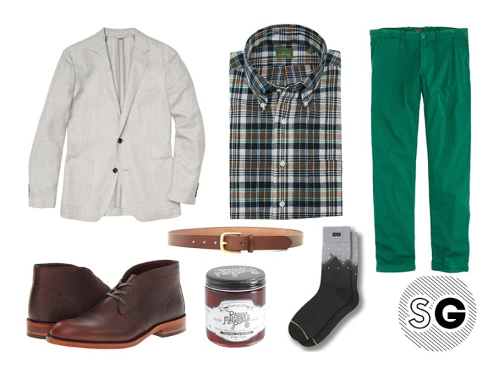 unstructured blazer, j.crew, bottle green, pantone color of the year 2017, frye, context clothing, railcar fine goods, pair of thieves, maximum henry, bonobos