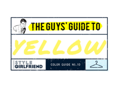 How to Wear Yellow: The Guy's Guide to a More Colorful Closet
