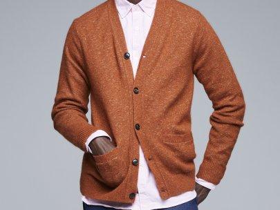 8 Cozy, Stylish Cardigans For Guys